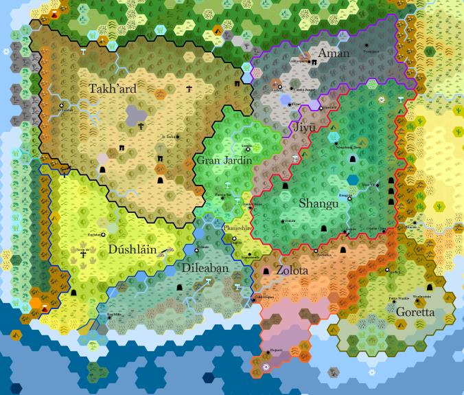 Almeria Political Map